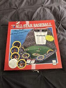 COMPLETE Rare ALL STAR BASEBALL 283 CADACO 1989 Simulation Game CLEAN ASB Vint