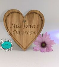 Personalised, Teacher gift, End of Year / Term, Class Room Door Name, Thank you