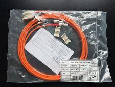 LWL SC - ST 2m 50u MM duplex orange - Lichtwellenleiter - NEU - OVP