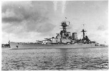 WW2  Photo HMS Hood Britain WWII Royal Navy World War Two Great Britain