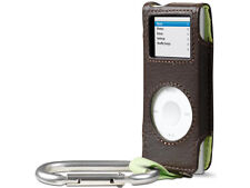 Belkin Leather Carabiner Case for Ipod Nano 1G 2G 1st 2nd Gen Peat F8Z057-PL