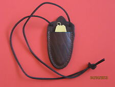 Leather Sheath for Ted Cash Rifle Capper Muzzleloading Black Powder