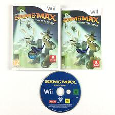 Sam & and et Max Au-delà du temps et de l'espace saison 2 / Jeu Sur Nintendo Wii