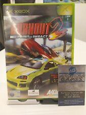 Xbox Burnout 2 Point of Impact PAL ottime condizoni average conditions
