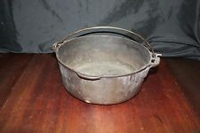 Wagner's 1891 Reproduction Cast Iron 5 Quart Dutch Oven Made in U.S.A.  NO LID