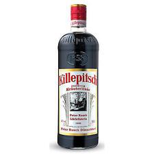 1 Flasche Düsseldorfer Killepitsch Kräuterlikör 1,0L Kille Pitsch 1L
