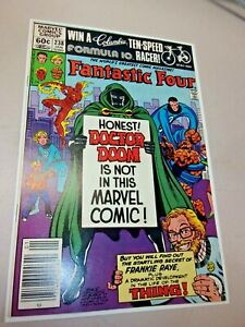 Fantastic Four #238 Origin Frankie Raye 1st App Aunt Petunia 1982 Newsstand