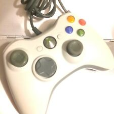 Official Original XBOX 360 Microsoft Gamepad WIRED Controller White