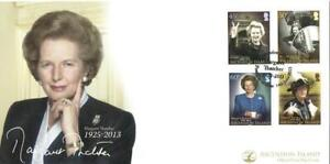 ASCENSION 2013 14TH JUNE MARGARET THATCHER  FIRST DAY COVER