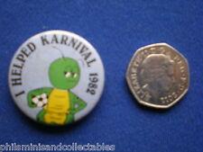 Nottingham Students Karnival 1982 Helpers  pin badge