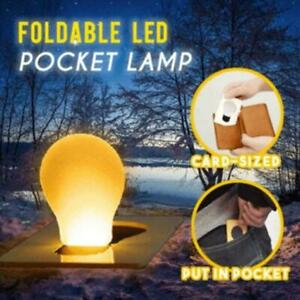 Foldable LED Pocket Lamp Night Light Lamp Portable Decorations Light