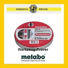 METABO 10er Pack Trennscheibe INOX 125mm x 1,0mm Trennscheiben in Box