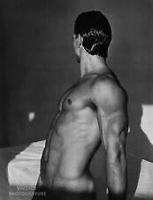 1985 BRUCE WEBER Vintage Photo Gravure Print 16X20 Male Nude Model, Bodybuilder