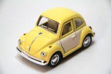 "4"" Kinsmart 1967 Volkswagen Beetle Diecast Model Toy Car NoScale Pastel 2T Yello"