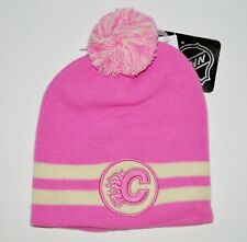 KLOZ CALGARY FLAMES BREAST CANCER NHL LICENSED TOQUE - SALE