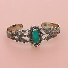fred harvey era sterling silver navajo turquoise arrows cuff bracelet 5.5in