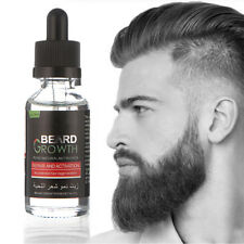 Natural Face Beard Mustache Growth Boosts Enhancer Grow Liquid Beard Oil 40ml