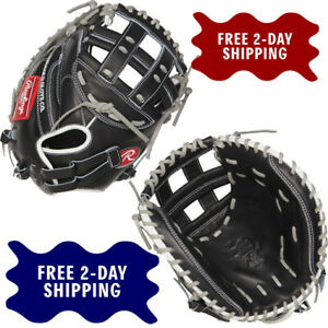 """RAWLINGS 33"""" HEART OF THE HIDE FASTPITCH SOFTBALL CATCHERS MITT THROWS RIGHT"""