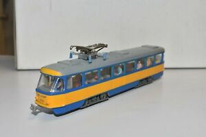 Straßenbahnmodell, Tatra T4, LVB, Leipzig, Herrmann & Parnter, 1:87