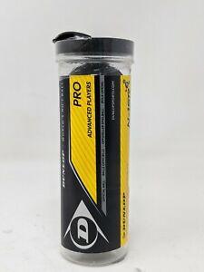 Dunlop Pro Squash Balls - 3 Pack Tube