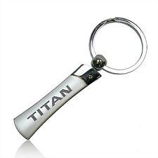 Nissan Titan Blade Style Metal Key Chain