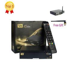 Freesat V8 Golden HD DVB-S2/T2/C Satellite TV Receivers+3G USB WIFI support ipt1