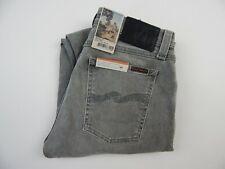 Nudie Jeans Skinny Lin Grey Beam Organic Cotton Jeans Men's sz 29 x 32 New