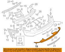 AUDI OEM 12-15 A6 Quattro-Spoiler Valance Panel 4G0807521F1RR