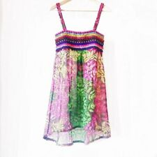 Vestiti da donna stile impero in fantasia floreale con lunghezza corto, mini