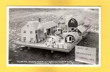 RPPC Juneau,WI Sunrise Stock Farm Wm Kreuziger, miniature building layout view 3