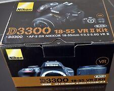 NIKON D3300 24.2 DSLR Camera w/18-55mm VR Lens Kit  - Brand New!!!