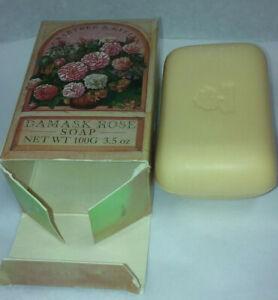 crabtree evelyn single damask rose soap