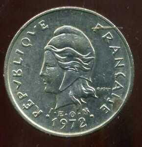 POLYNESIE francaise 10 francs 1972