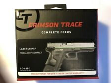 Crimson Trace Lg-639G for Glock generation 3, 4 & 5 for Glock 19 & other models