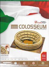 3D Architecture Puzzle Cubic Fun COLOSSEUM,  84 Pieces, Complexity 5 Scale 1-6