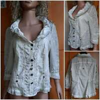 Women's blouse ELISA CAVALETTI, 3/4 sleeve, curly buttons Size M L