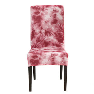 Velvet Stretch Chair Cover Slipcover Wedding Home Banquet Decor Seat Cover