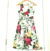 PHASE EIGHT Floral FIT AND FLARE Dress Size UK 8 Party Wedding Cruise Holiday