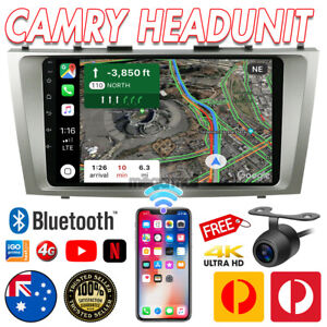 """9"""" For Toyota Camry Aurion 2006-2011 Android 10.0 Car GPS Stereo Navi Head unit"""