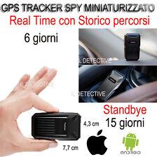 MICRO GPS TRACKER SPIA 6 GIORNI DI AUTONOMIA REALTIME