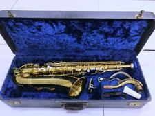 Conn stencil 10M Pan-Am tenor saxopohone, case, 2 mouthpieces | See demo video!