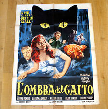 L'OMBRA DEL GATTO poster manifesto affiche Horror Thriller The Shadow of the Cat