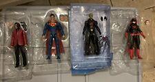DC Multiverse Action Figures LOT- Clayface BAF Two-Face Superman Batwomen loose