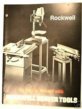 Be Good To Yourself with ROCKWELL BEAVER TOOLS Machinery CATALOG 1973 #RR44 Book