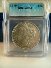 1879-0  DOLLAR  ICG GRADED AU-50