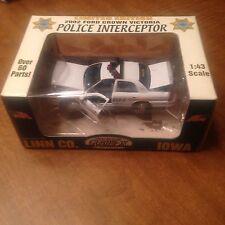 Police Car Gearbox Linn County Iowa Sheriff