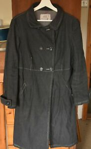 STUNNING MISTRAL FINE COTTON CORD LINED COAT Size 12