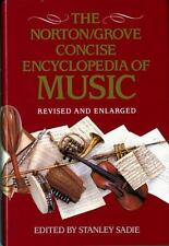 Norton/Grove Concise Encyclopedia of Music by Stanley Sadie (1994, Hardcover, R…