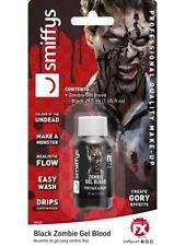 Disfraz de Halloween Gore Gel Sangre Negro 28.4ml Vampiro Terror Nuevo por