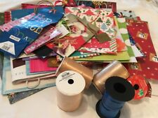 Lot Of 20+ Gift Bags And Ribbon